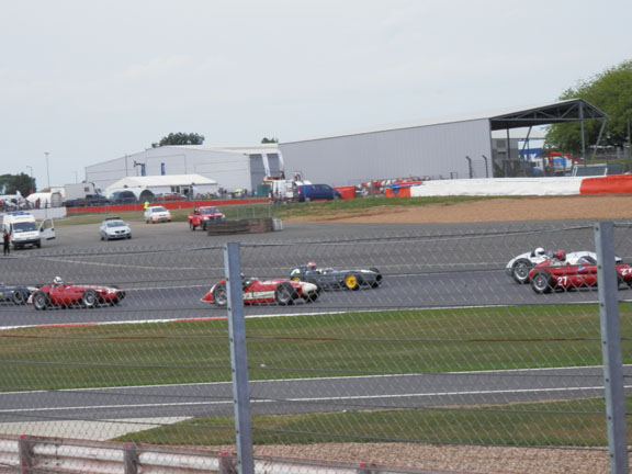 silverstone classic cars racing