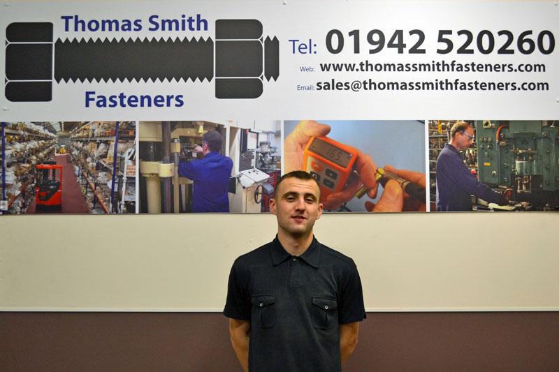 thomas smith fasteners apprentice - NVQ