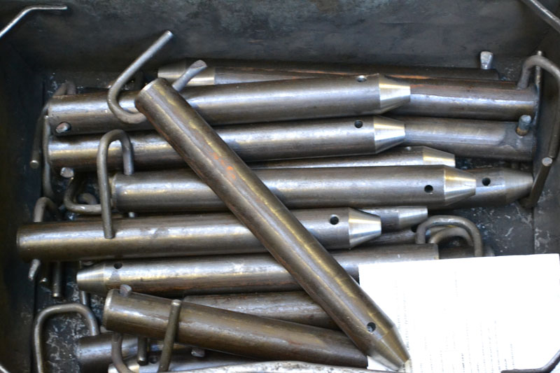drilled clevis pins