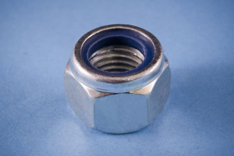 bsf and bsw (whitworth) nylon insert nuts nylocs
