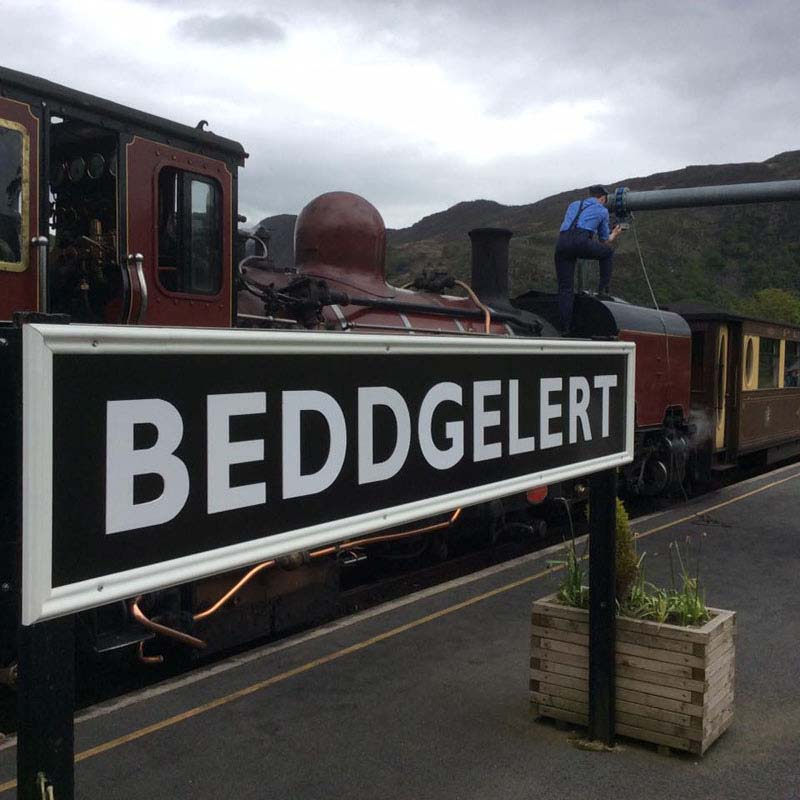 beddgelert railway heritage