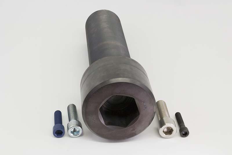 socket cap screws large diameter