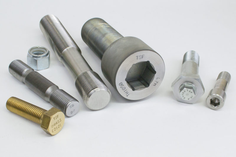 Special fasteners and materials